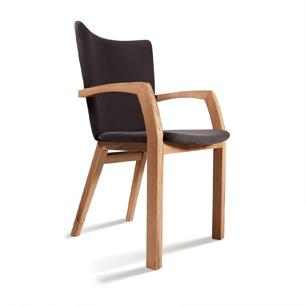 Eternity armchair solid oak